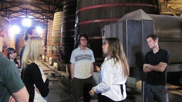 Spanisch und Wein in Chile