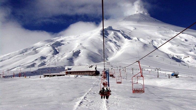Spanischkurs und Schi Programm in Chile
